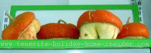 Tenerife pumpkins at Tienda Carmen