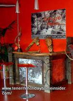 Reception desk of  gallery Manufactum Tenerife