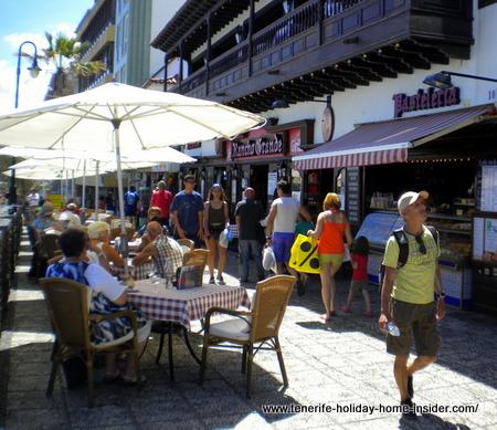 San Telmo beach shop front by Rancho Grande Puerto de la  Cruz