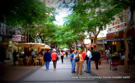 shopping in Tenerife in Calle Castillo