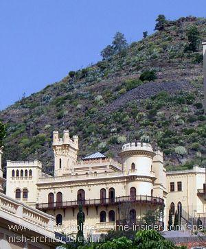 Spanish architecture in Tenerife Hotel Quisisana
