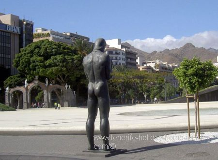 Spain art in Santa Cruz de Tenerife