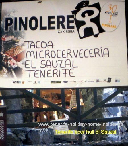 Tacoa Microcerveceria stall 30 at Pinolere craft fair