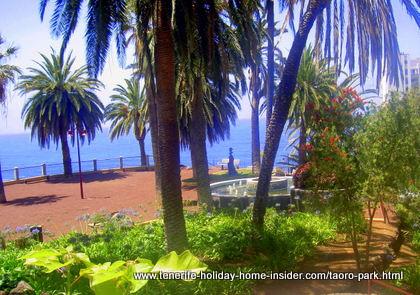Taoro Parque Mirador of  Jardines Atalaya gardens