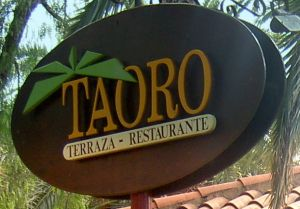 Taoro Restaurant or Terraza Restaurante in Spanish located at the Taoro Park.