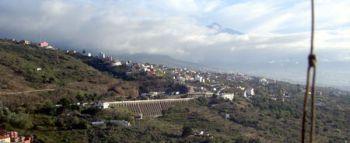 Teide seen from La Baranda at el Sauzal.