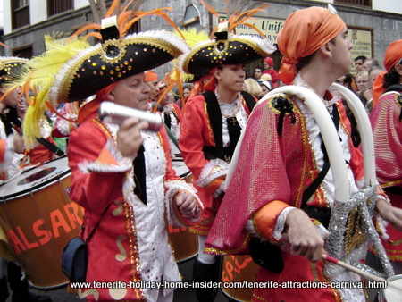 Tenerife attractions with carnival in the lead