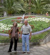Tenerife flower clock Parque Garcia Sanabria