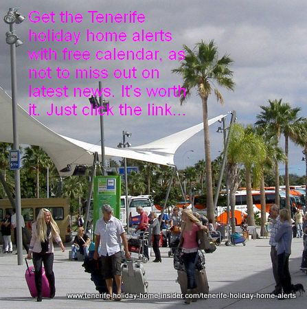 Tenerife holiday home alerts