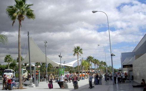Tenerife South Airport TFS. Reina Sofia.