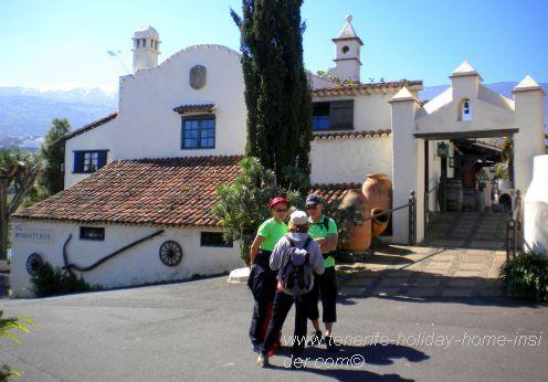 Tenerife walking at Meson Monasterio of Los Realejos.