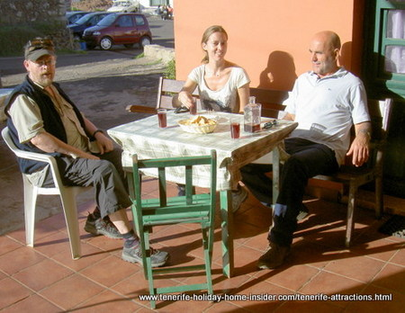 Teno Alto shop and bar for cheese and wine