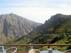 road tour by Mazca Teno mountain Tenerife