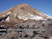 Volcanic terrain Tenerife Teide Spain