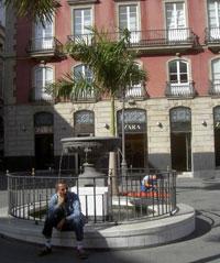 Zara at Plaza Canderlaria of Santa Cruz