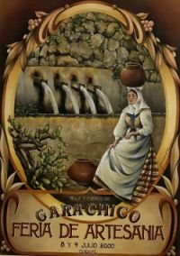 Ano-2000 Poster of XX arts and crafts fair Garachico