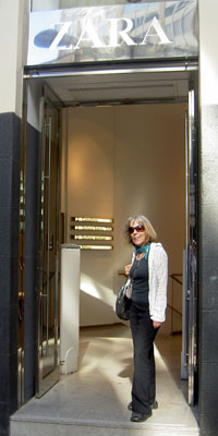 Zara backdoor where I stand